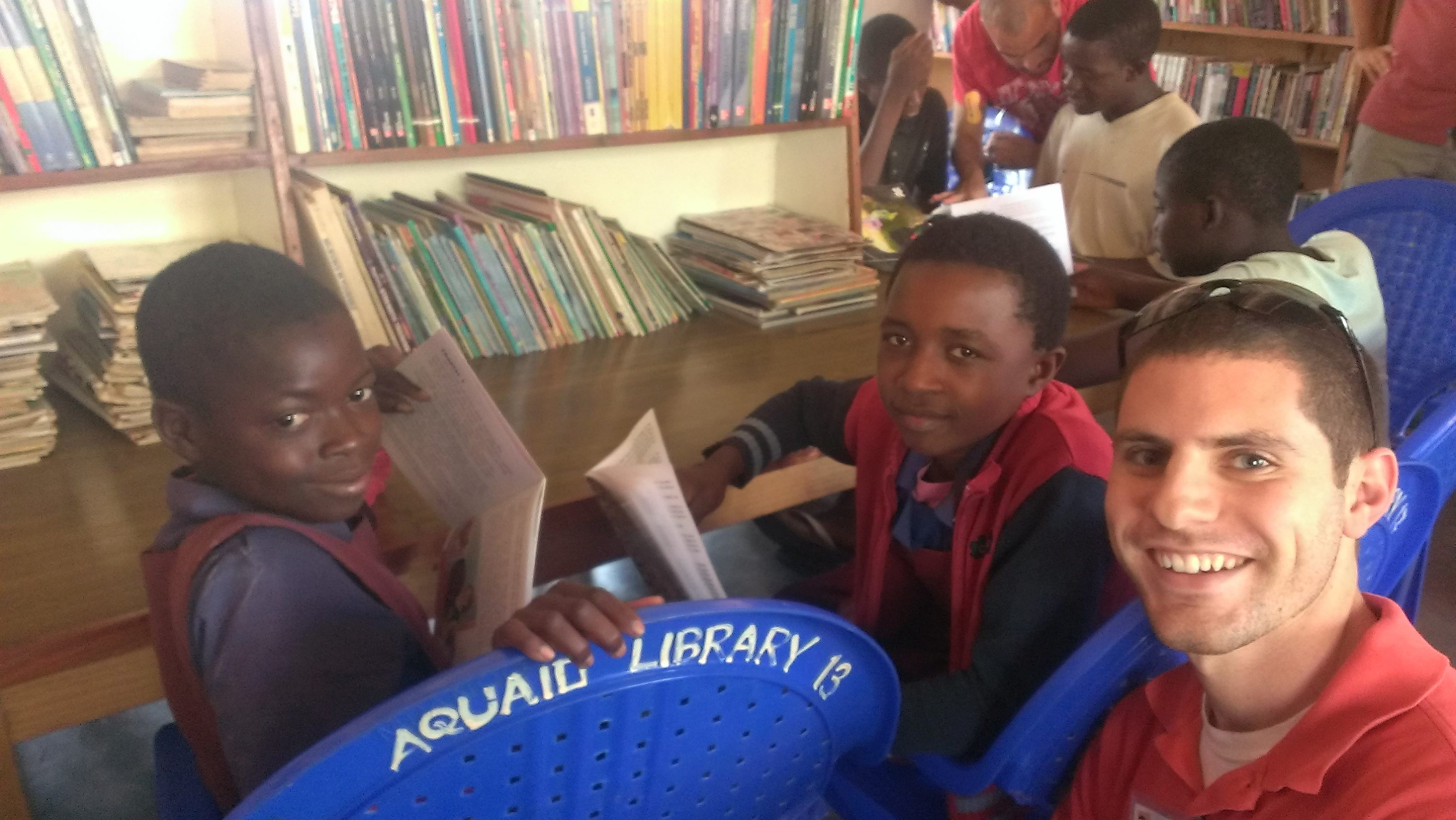 donate books to africa